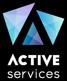 Logo de la solution d'affichage dynamique interactif ActiveServices